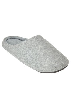 Clog Slipper with Cushioned Insoles by Dreams & Co.®, HEATHER GREY