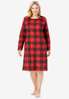2-Pack Long-Sleeve Sleepshirts by Dreams & Co.®,