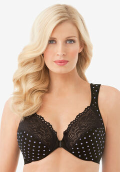 Glamorise® Wonderwire® Front-Close Underwire Bra #1245,