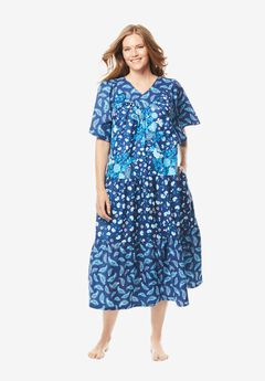 Tiered Print Lounger , EVENING BLUE PAISLEY