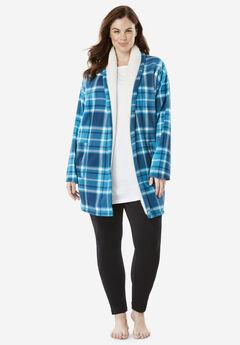 Fleece Bed Jacket by Dreams & Co.®,