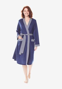 Heathered Knit Robe by Dreams & Co.®,