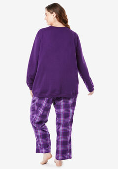 Fleece Sweatshirt   Pant Pajama Set by Dreams   Co.® 5c9d38215