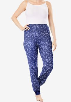 Thermal Lounge Pant , EVENING BLUE STARS