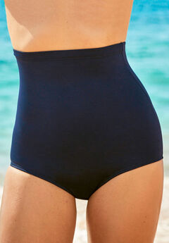 High-Waist Swim Brief ,
