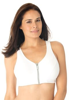 Magic Lift® High-Impact Zip-Front Sport Bra by Glamorise®,