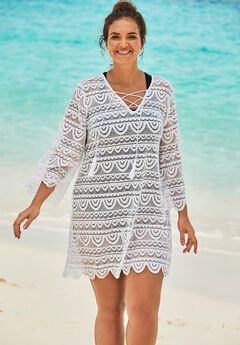 Scallop Lace Cover Up by Swim 365,