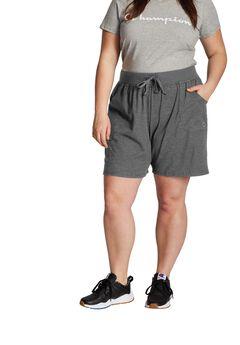 Women's Plus Jersey Shorts ,