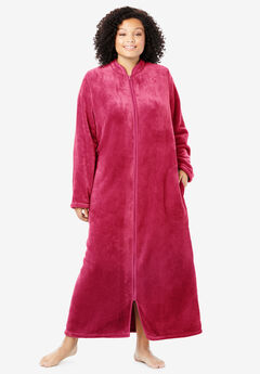 The Microfleece Robe by Dreams & Co.®, CLASSIC RED
