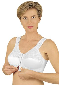 Front Hook Mastectomy Comfort Plus Bra by Jodee ,