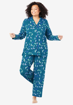 2-Piece Classic Pajama Set By Dreams & Co.®,