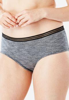 2-Pack Hipster Sport Panty by Comfort Choice®,