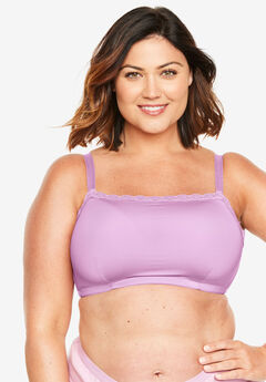 Lace-Trim Wireless Cami Bra Comfort Choice®,