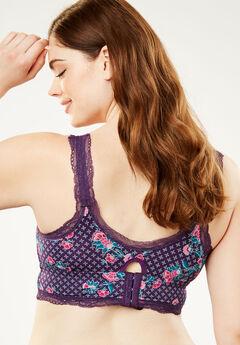 1c79de3acfb41 Wireless Lace Trim Bralette by Amoureuse®