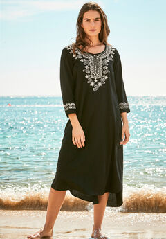Embroidered Cover Up,