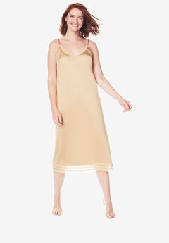 Snip-To-Fit Dress Slip ,
