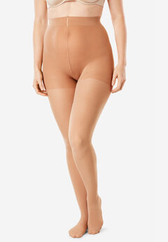 2-Pack Semi-Sheer Tights by Comfort Choice®,