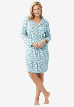 Knit Sleep Shirt ,