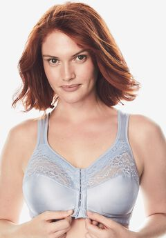 Easy Enhancer® Front-Close Wireless Bra by Comfort Choice®, PEARL GREY