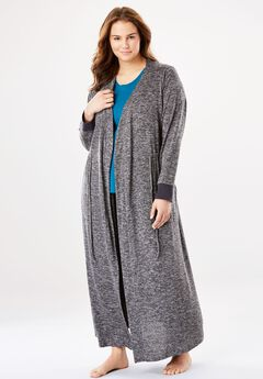 Marled Long Robe,