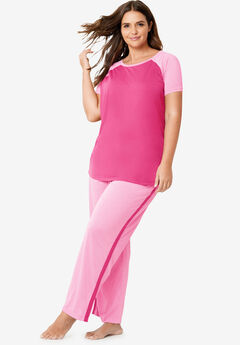 46ad81a59 Cool Dreams Baseball Tee Pajama Set by Dreams   Co.®