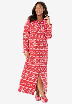 Fleece Robe with Free Slippers by Dreams & Co.®,