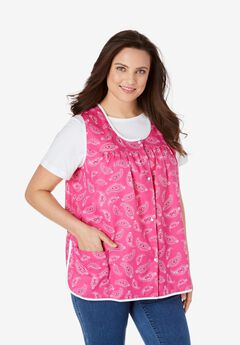 Snap-Front Apron by Only Necessities,
