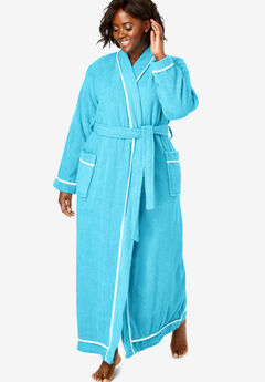 Spa Terry Long Wrap Robe by Dreams & Co.®,