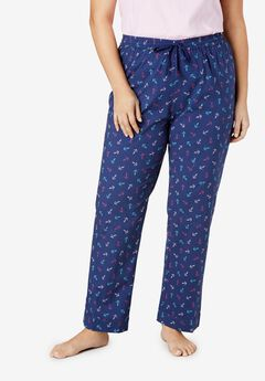 Cotton Poplin PJ Pant by Dreams & Co.®,