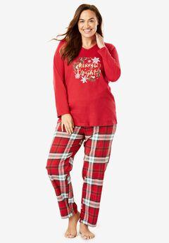 Cozy Pajama Set by Dreams & Co.®,