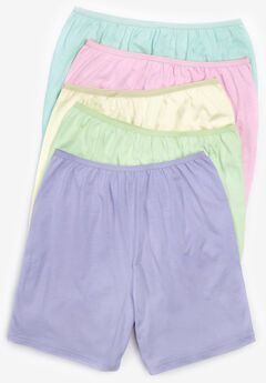 5-Pack Cotton Boxer , PASTEL PACK