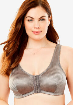 Leading Lady® Marlene Lounge Front-Close Wireless Bra #0151,