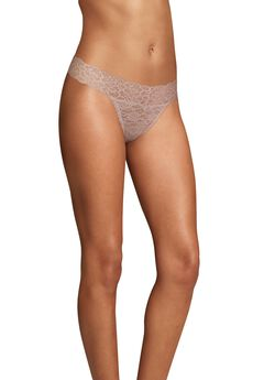 Sexy Must Haves Lace Thong ,