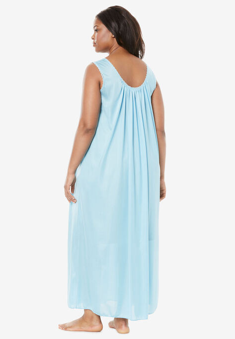 7a82715bfa7 Long Tricot Knit Nightgown by Only Necessities®