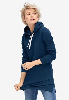 Hooded Sweatshirt Tunic by ellos®,