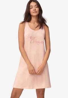 A-Line Sleeveless Sleep Shirt,