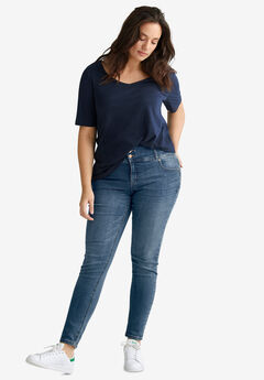 Skinny High Waist Shaping Jeans by ellos®,