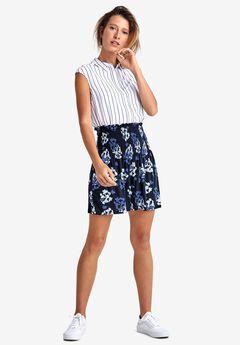 Smocked Waistband Skirt by ellos®,