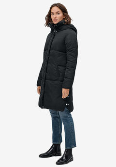 Side Snap Puffer Coat by ellos®,