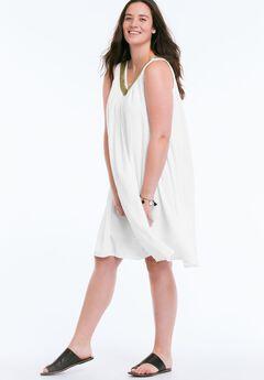 Goddess Dress by ellos®, WHITE