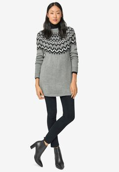 Fairisle Sweater Tunic by ellos®,