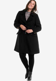 af07d20f93f Plus Size Wool Blend Coats for Women