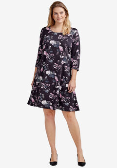 Madison 3/4 Sleeve Dress,