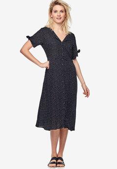 Tie-Sleeve Dress by ellos®,