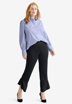Flounce Hem Crop Pants by ellos®,