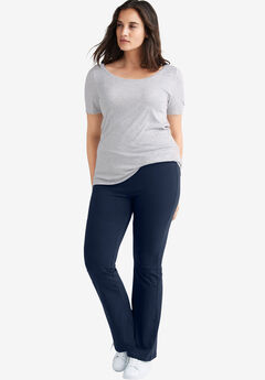 Knit Bootcut Leggings by ellos®,