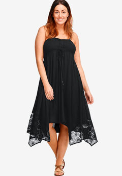 Handkerchief Hem Dress,