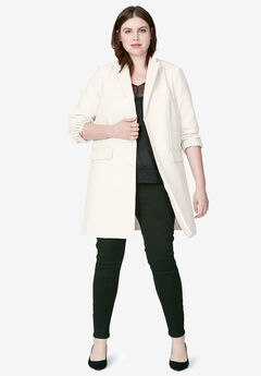 Long Boyfriend Blazer by ellos®,