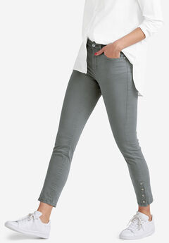 Snap-Hem Pants by ellos®,
