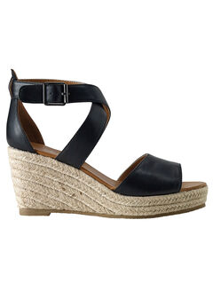 Espadrille Wedge Sandal by ellos®,